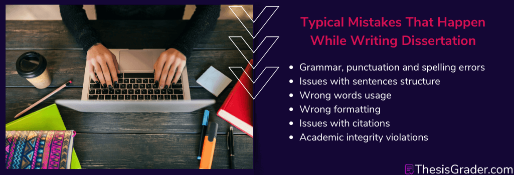 mistakes that need dissertation revision